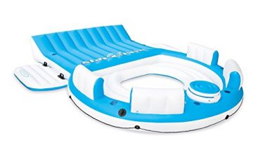 Intex Relaxation Lounge 6-Person Floating Island Raft