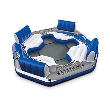 Intex Pacific Paradise 4-Person Relaxation Floating Island Raft