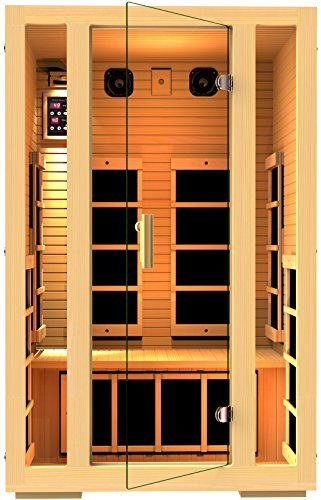 JNH Lifestyles Joyous 2-Person Far Infrared Sauna