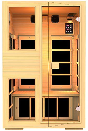 JNH 2-Person No EMF Infrared Sauna