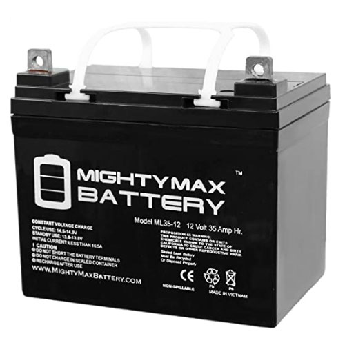 Mighty Max Battery ML35-12 Deep Cycle Trolling Motor Battery