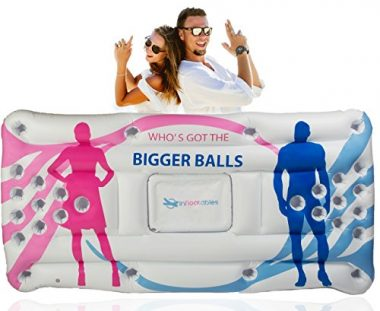 Infloatables Inflatable Floating Beer Pong Table And Lounge