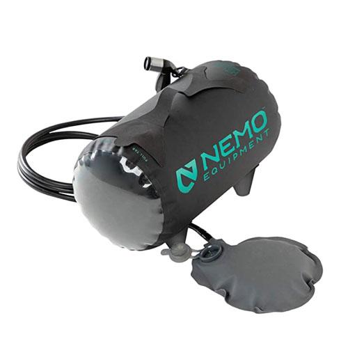 Nemo Helio Pressure Portable Camping Shower