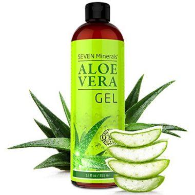 Seven Minerals Organic (no Xanthan) Aloe Vera Gel