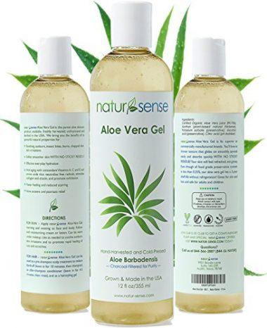 Nature Sense Organic for Sunburn, Psoriasis Aloe Vera Gel