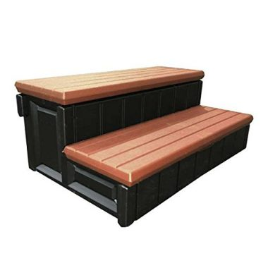 QCA Spas Storage Hot Tub Step
