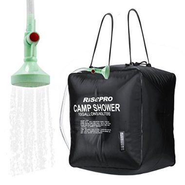 Risepro Solar Portable Camping Shower