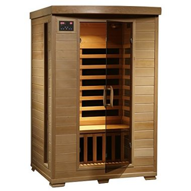 Radiant Saunas 2 Person Hemlock Infrared Sauna