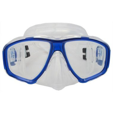 Scuba Choice Blue Dive Mask Farsighted Prescription Snorkel Mask