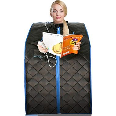 SereneLife Portable Home Spa Infrared Sauna