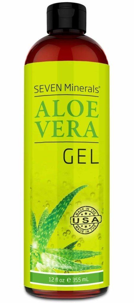 Seven Minerals (no Xanthan) Organic Aloe Vera Gel
