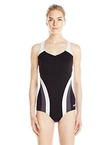 Speedo Women's Flow One Piece Fitness Active Swimsuit