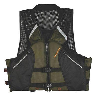 Stearns Comfort Series Collared Angler Life Jacket