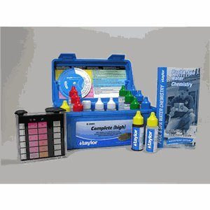 Taylor Technologies Deluxe Pool And Spa Test Kit