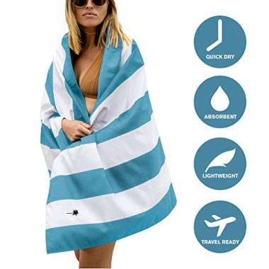 Microfiber Beach Towel by Travel Works