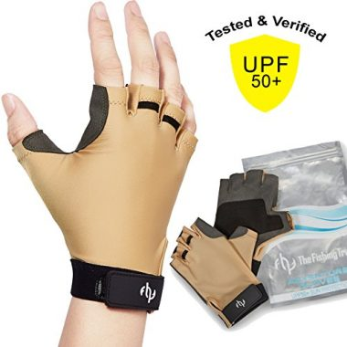The Fishing Tree UV sun protection gloves