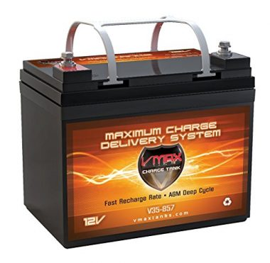 VMAX VMAX857 AGM Deep Cycle Marine Trolling Motor Battery
