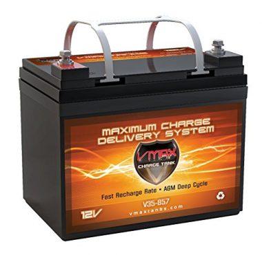 VMAX VMAX857 AGM Deep Cycle Marine Battery