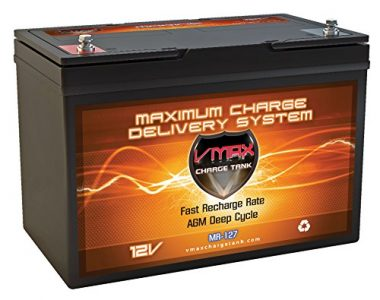 VMAX MR127 Deep Cycle Maintenance Free Trolling Motor Battery