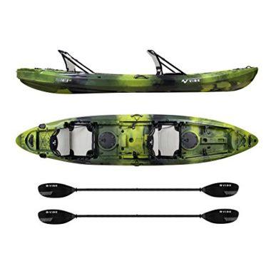 Yellowfin 130T Tandem Ocean Fishing Kayak Package By Vibe Kayaks
