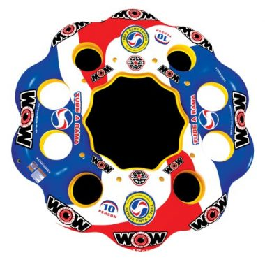 WOW World of Watersports, 13-2060 Tube A Rama, 10 Person Inflatable Floating Island