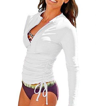 Sbart Women's UV Sun Protection Long Sleeve Rash Guard