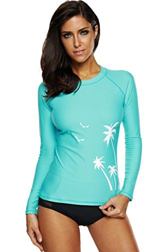 Womens Long Sleeve Rashguard by CharmLeaks