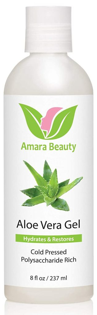 Amara Organics Cold-Pressed Pure Aloe Vera Gel