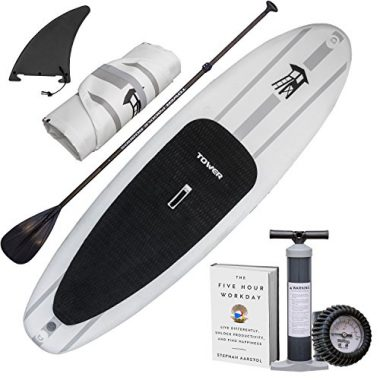 """Tower Adventurer 9'10"""" Inflatable Paddle Board For Yoga"""