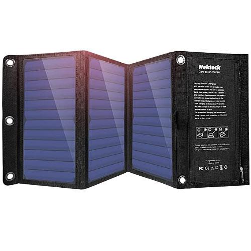 Nekteck 21W Portable Solar Panel