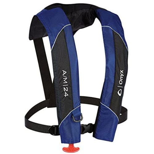 Absolute Outdoor Onyx Automatic/Manual Inflatable Life Jacket