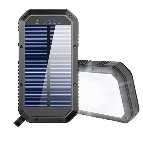 GoerTek 25000mAh Battery Solar Charger