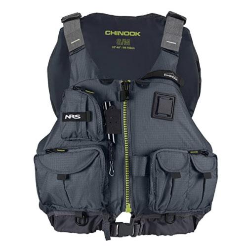 NRS Chinook Fishing PFD Kayak Life Vest