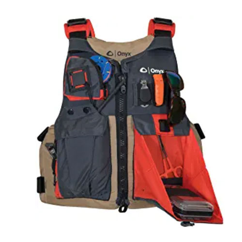ONYX Kayak Fishing Life Jacket for Water Sports