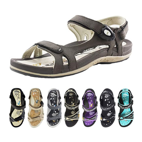 Gold Pigeon Shoes Signature Sandal for Women