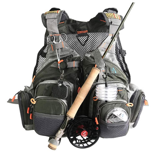 M MAXIMUMCATCH Maxcatch Fly Fishing Life Jacket