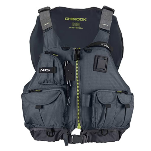 NRS Chinook Fishing Life Jacket for Water Sports