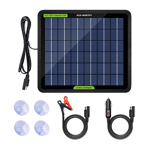 ECO-WORTHY 12 Volts 5 Watts Trickle Solar Charger