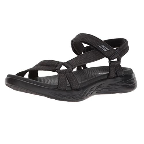 Skechers Women's On-The-go 600-Brilliancy Sport Sandal for Women