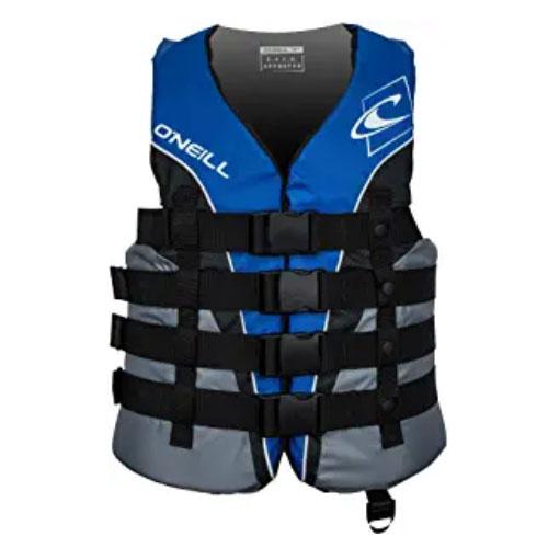 Neoprene Life Jacket Water Sport Kayak Canoe Swim Buoyancy Safety Gear Float
