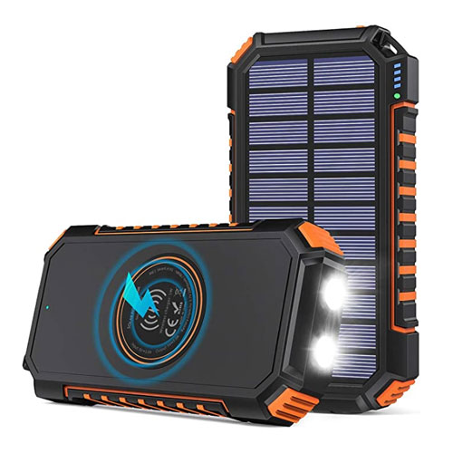 Riapow Store Wireless 26800mAh Solar Charger