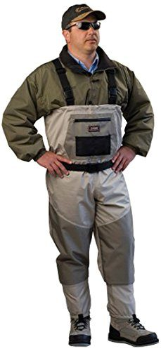 Caddis Men's Attractive 2-Tone Deluxe Breathable Stocking Foot Wader