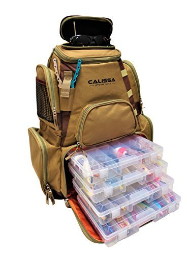 Calissa Offshore Blackstar Fishing Tackle Backpack
