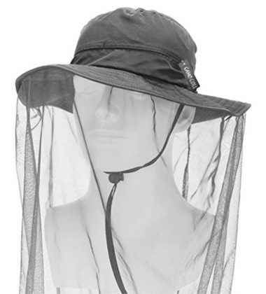 Camo Coll Outdoor Anti-mosquito Mask Hat
