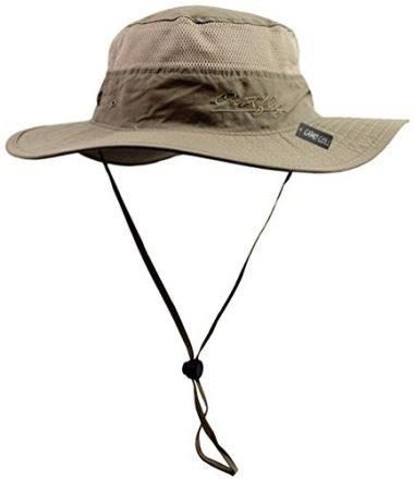 Camo Coll Outdoor Sun Bucket Boonie Hat