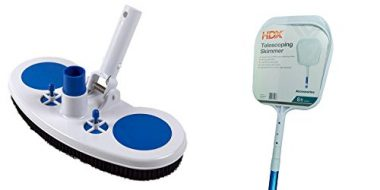 Classic Air Vac Vinyl Liner Vacuum with Skimmer with Telescoping Pole