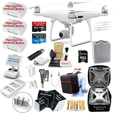 DJI Phantom 4 PRO Quadcopter Bundle Kit Fishing Drone