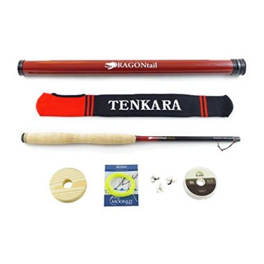 DRAGONtail Tenkara Shadowfire 360 12′ Tenkara Fly Fishing Rod