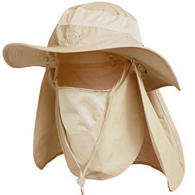 DDYOUTDOOR Summer Outdoor Sun Protection Fishing Cap