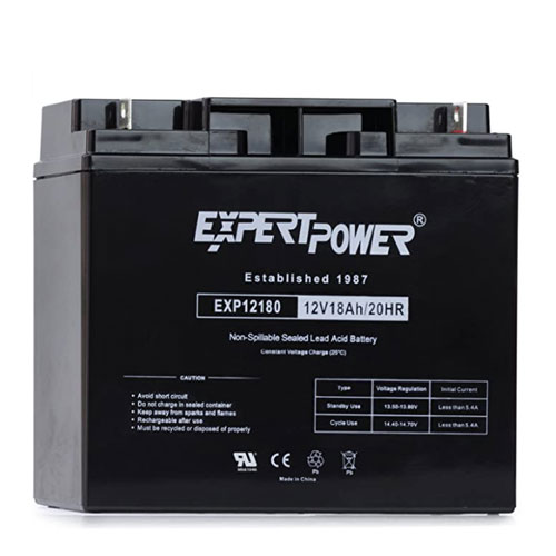 ExpertPower EXP12180 Rechargeable Marine Battery